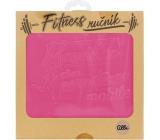Albi Fitness uterák Mamička ružový 90 x 50 cm