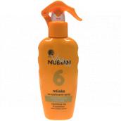 Nubian OF6 vodě a písku odolné mléko na opalování sprej 200 ml