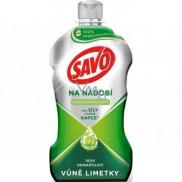 Savo Limetka prostriedok na ručné umývanie riadu 450 ml