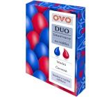 Ovo Tekuté farby duo Modrá / Červená 2 farby á 20 ml: 1 sáčok (20 ml)