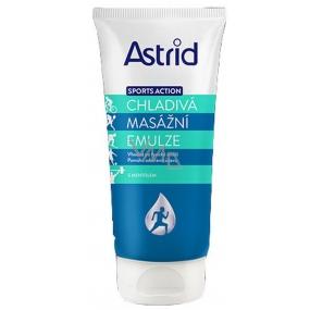 Astrid Sports Action Chladivá Masážní emulze s mentolem 200 ml