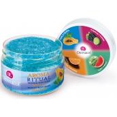 Dermacol Aroma Ritual Papája a mäta tropický telový peeling 200 g