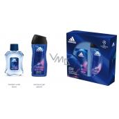 Adidas UEFA Champions League Victory Edition toaletná voda pre mužov 50 ml + sprchový gél 250 ml, darčeková sada