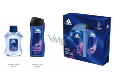 Adidas UEFA Champions League Victory Edition toaletní voda pro muže 50 ml + sprchový gel 250 ml, dárková sada