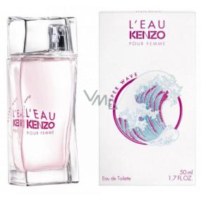 Kenzo L Eau Kenzo Pour Femme Hyper Wave toaletná voda pre ženy 50 ml