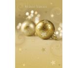 Ditipo Hrací a svítící přání do obálky Krásné Vánoce N Merry Christmas Everyone 224 x 157 mm