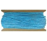 Povrázok papierový modrý 30 m