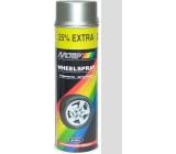 Motip Wheel Spray 04007C stříbrný akrylový lak na disky kol 500 ml