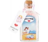 Bohemia Gifts Kúzlo domova - Šípky a Ruže soľ do kúpeľa 110 g