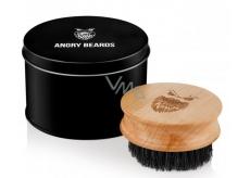 Angry Beards Safe drevený kefa na fúzy