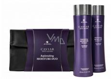 Alterna Caviar Replenishing Moisture kaviárový hydratačný šampón pre suché a poškodené vlasy 250 ml + kondicioner 250 ml kozmetická sada duo