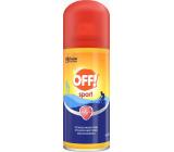 Off! Šport repelent proti kliešťom, komárom rýchloschnúci sprej 100 ml