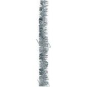 Reťaz vianočný, strieborný dĺžka 200 cm