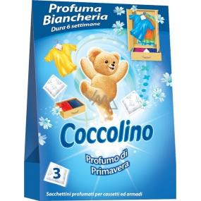 Coccolino Profumo di Primavera voňavé sáčky do prádla 3 kusy