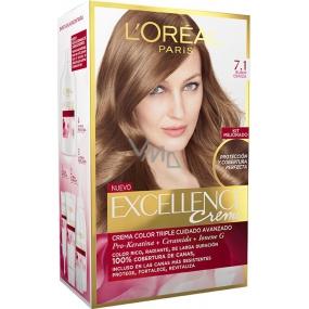 Loreal Paris Excellence Creme farba na vlasy 7.1 Blond popolavá
