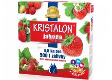 Agro Kristalon Jahoda vodorozpustnej univerzálne hnojivo 0,5 kg pre 250 l zálievky