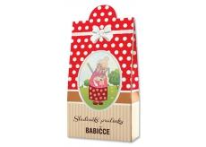 Bohemia Gifts & Cosmetics Pralinky z mléčné a hořké čokolády s náplní se smetanou a Irish whiskey Pro babičku 100 g