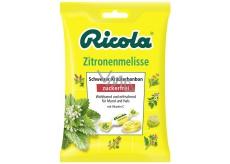 Ricola Zitronenmelisse - Medovka švajčiarske bylinné cukríky bez cukru s vitamínom C z 13 bylín 75 g