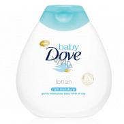 Dove Baby Rich Moisture upokojujúce telové mlieko pre deti 200 ml