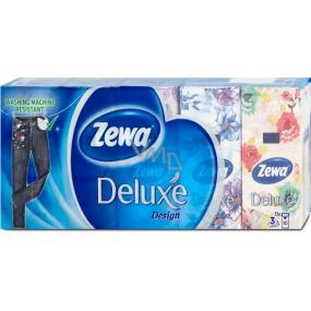 Zewa Deluxe Design papierové vreckovky 10 x 10 kusov