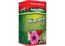 AgroBio Karate sa Zeon technológiou 5cs prípravok proti savému a žravému hmyzu 20 ml