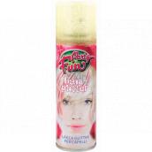Glitter Glitre lak na vlasy a telo zlatý sprej 125 ml