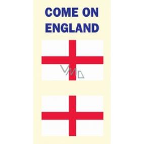 Arch Tetovací obtisky na obličej i tělo Anglie vlajka 3 motiv