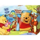 Disney Medvídek Pú sprchový gel 300 ml + žínka dětská dárková kazeta
