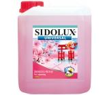 Sidolux Universal Květ Japonské višně univerzální mycí prostředek na všechny omyvatelné povrchy a podlahy 5 l