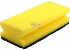 MaKro Gastro Houba na nádobí tvarovaná žlutá 15 x 9 x 4,5 cm 1 kus