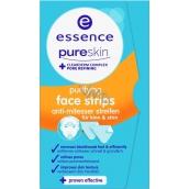Essence Pure Skin Purifying Face Strips čistící proužky na obličej 3 kusy