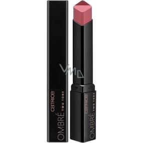 Catrice Ombré Two Tone Lipstick rúž 030 Grapedation Nude 2,5 g