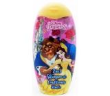 Disney Princess Kráska a zvíře 2v1 šampon a kondicionér pro děti 300 ml