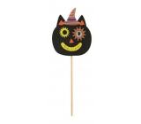 Mačka z filcu zápich 9 cm + špajle