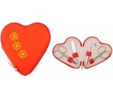 Dup Manikúra Valentýnka koženka 4 dílná vzor 230402-285