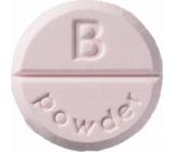 Bomb Cosmetics Pudr - Powder aromaterapie tableta do sprchy 1 kus