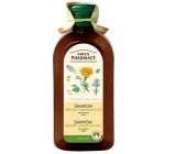 Green Pharmacy Nechtík a Rozmarínový olej šampón pre normálne - mastné vlasy 350 ml