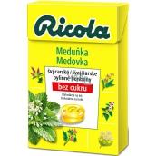 Ricola Zitronenmelisse - Medovka švajčiarske bylinné cukríky bez cukru s vitamínom C z 13 bylín 40 g
