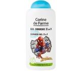 Corine de Farmu Disney Spiderman 2v1 šampón na vlasy a sprchový gél pre deti 250 ml