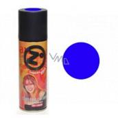 Zo farebný lak na vlasy Modrý 125 ml sprej