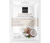 Gabriella salvy 15 Minutes Sheet Mask Coconut hydratačná textilné pleťová maska 1 kus