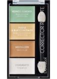 Dermacol Corrector Palette 4-farebná paleta korektorov a rozjasňovače 9 g