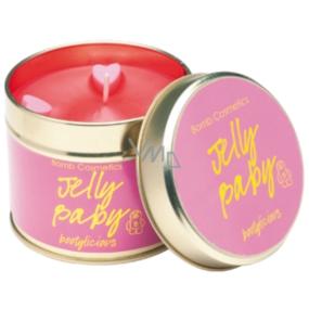 Bomb Cosmetics Jelly Baby Voňavá prírodné, ručne vyrobená sviečka v plechovej dóze horí až 35 hodín