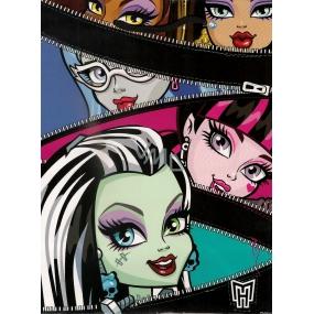 Ditipo Darčeková papierová taška 18 x 10 x 22,7 cm Disney Monster Hight, zipsy