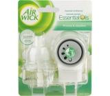 Air Wick Fresh Ivory Freesia Bloom - Biele kvety frézie elektrický osviežovač vzduchu komplet 19 ml