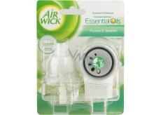 Air Wick Fresh Ivory Freesia Bloom - Bílé květy frézie elektrický osvěžovač vzduchu komplet 19 ml