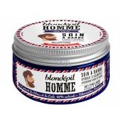 Blondépil Homme Soin A Barbe hydratační krém na obličej a vousy pro muže 100 ml