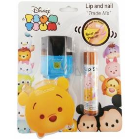 Disney Tsum Tsum Me lesk na rty + lak na nehty, kosmetická sada pro děti