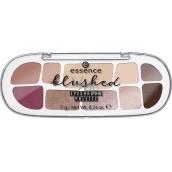Essence Blushed Eyeshadow Palette paletka očných tieňov 7 g