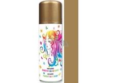 Anděl Smývatelný barevný lak na vlasy zlatý 125 ml